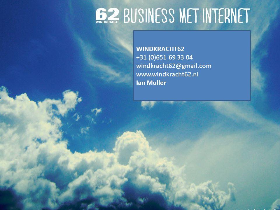 Hoe positioneer ik mijn uitgeverij 10 do's en dont's Windkracht62 1 WINDKRACHT62 +31 (0)651 69 33 04 windkracht62@gmail.com www.windkracht62.nl Ian Muller
