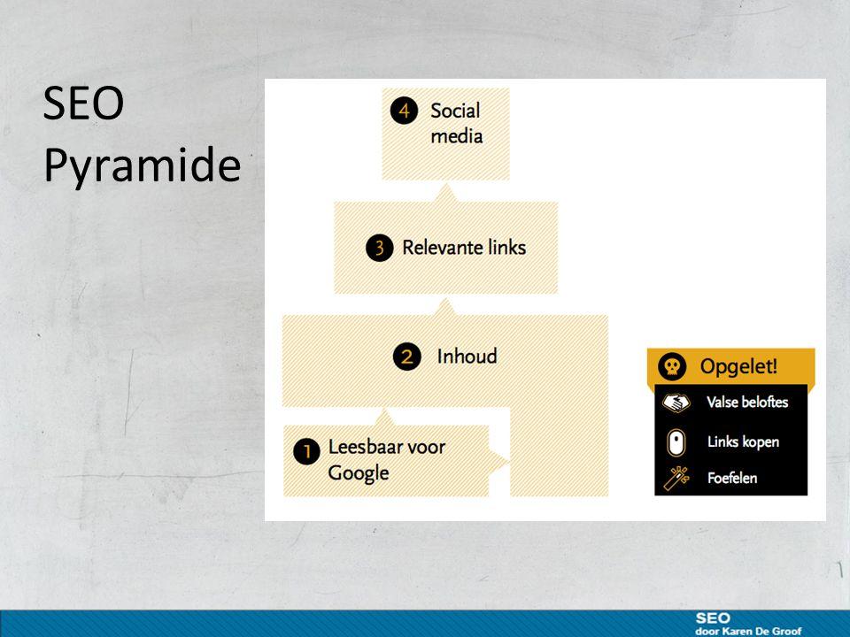 Gebruik rel= nofollow waar nodig in links Nofollow is een methode waarmee webmasters tegen zoekmachines kunnen zeggen dat ze de links op een bepaalde pagina of een specifieke link niet moeten volgen.