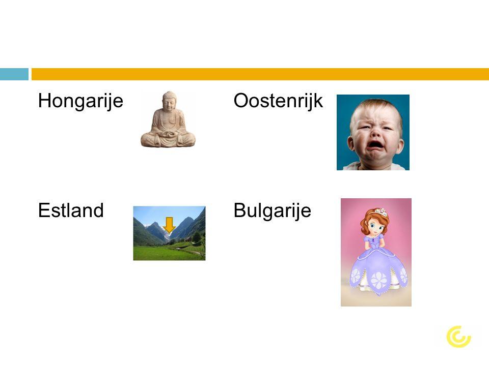 HongarijeOostenrijk EstlandBulgarije