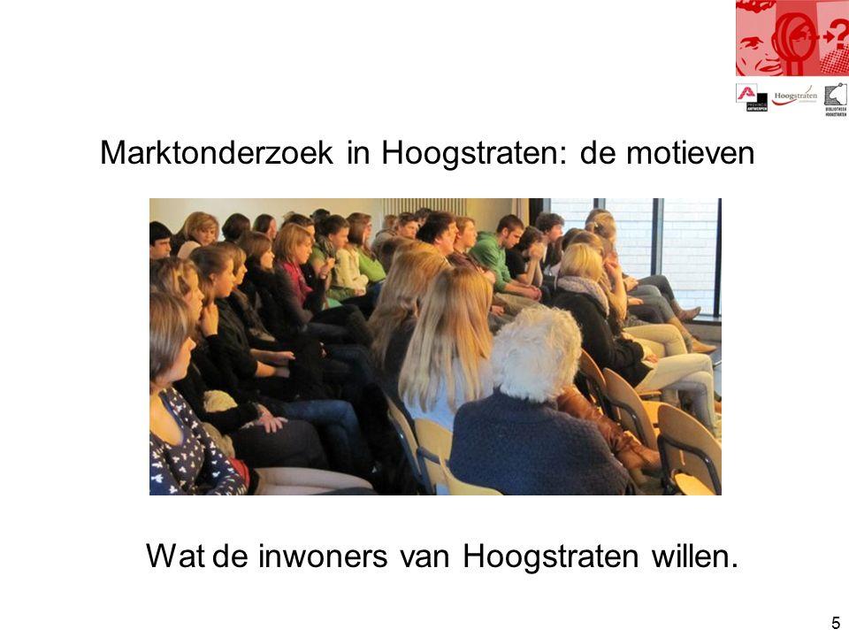 16 Internet info bron naast boek en tijdschrift (in Hoogstraten):