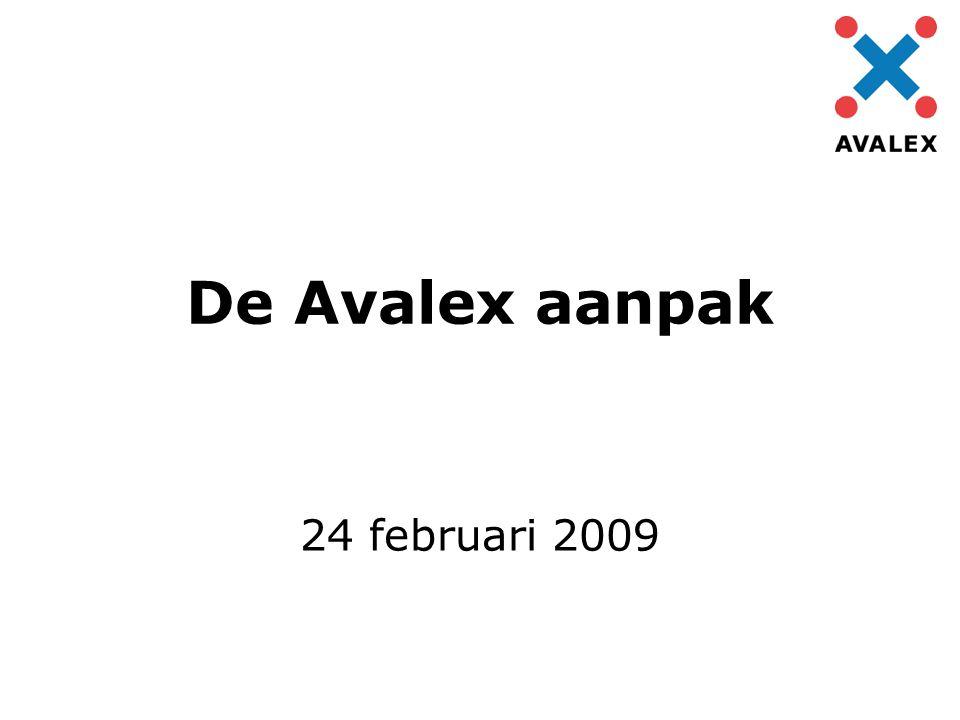 De Avalex aanpak 24 februari 2009