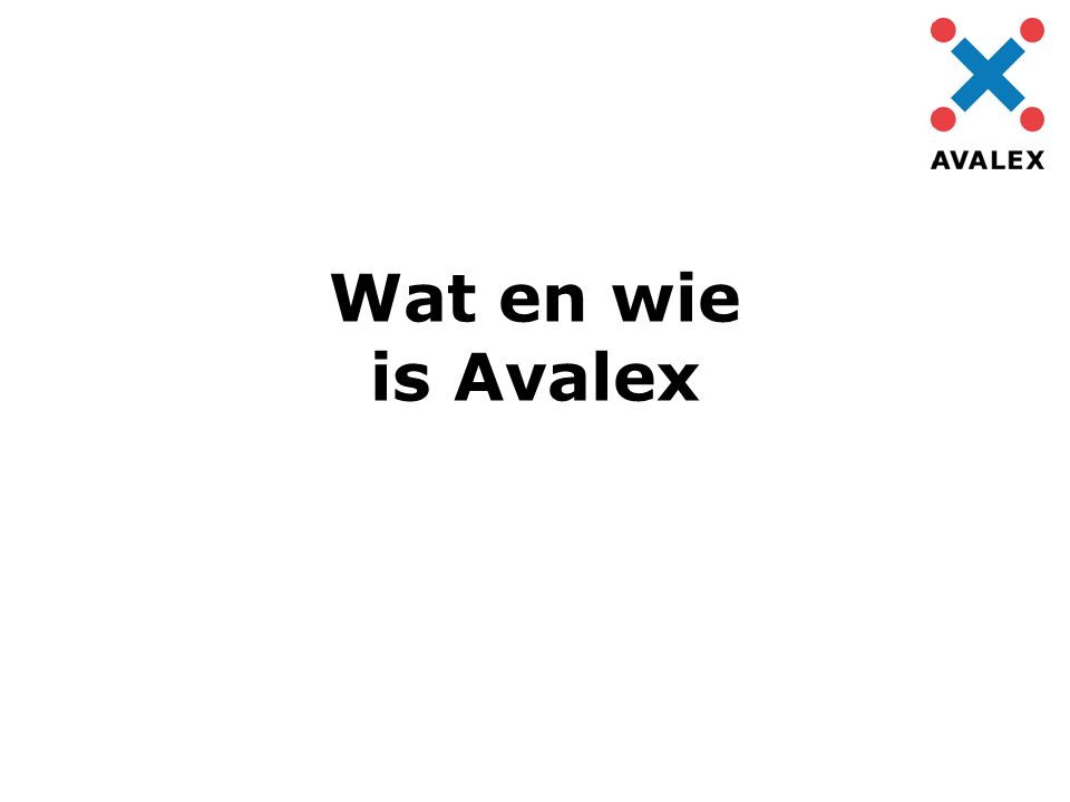 Wat en wie is Avalex