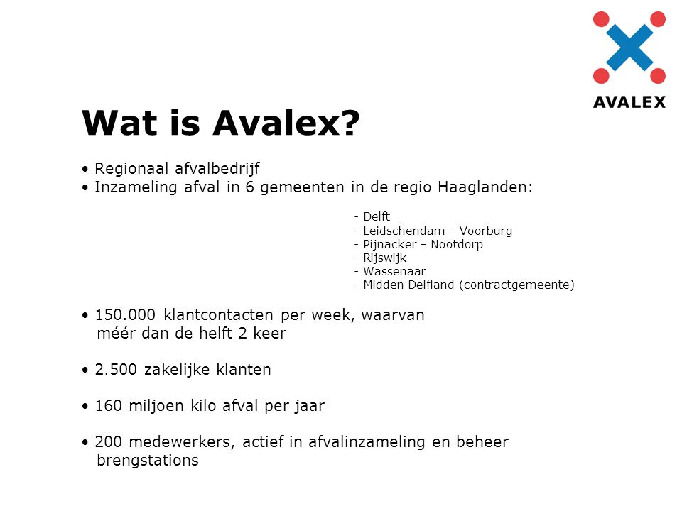 Wat is Avalex.