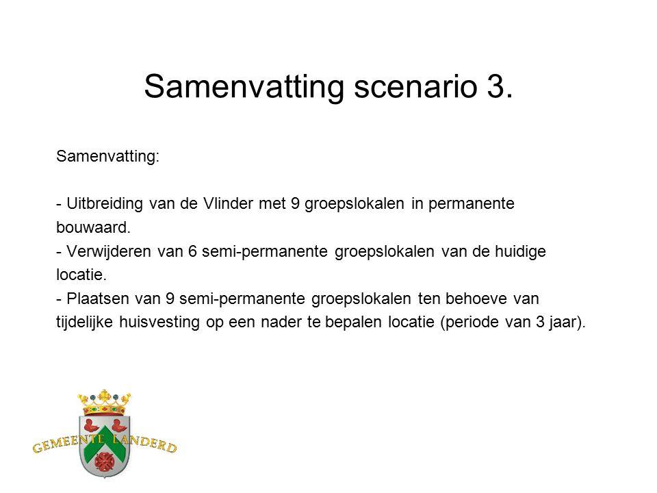 Samenvatting scenario 3.