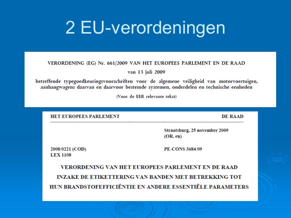 EU typegoedkeuring (1)   toepassingsgebied: voertuigen M i, N i en O i (art.