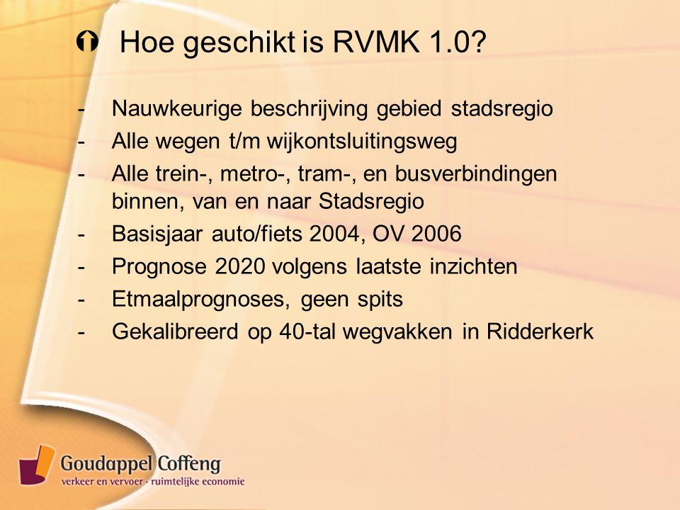  Hoe geschikt is RVMK 1.0.