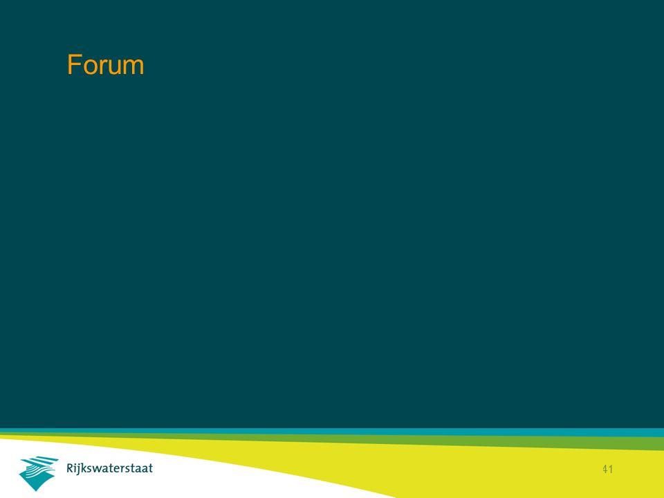 Rijkswaterstaat Corporate Dienst 41 Forum