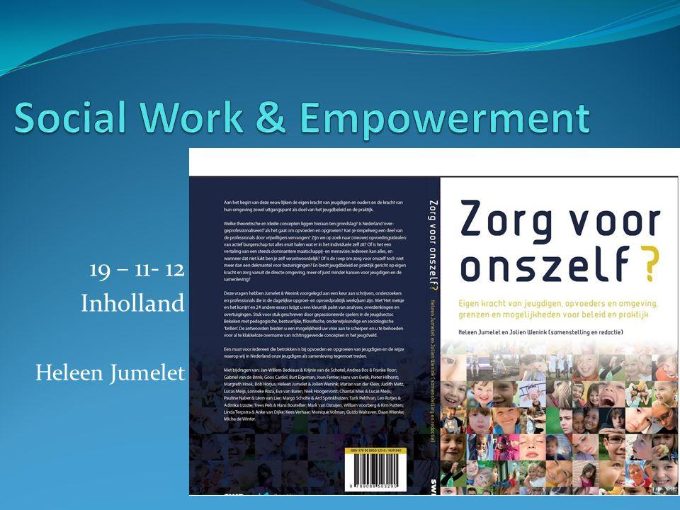Hoe kunnen sociale professionals een te zwaar beroep op de burger als vrijwilliger en/of mantelzorger voorkomen?