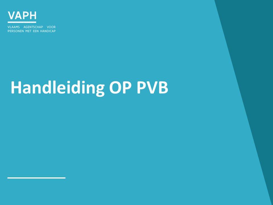 Handleiding OP PVB