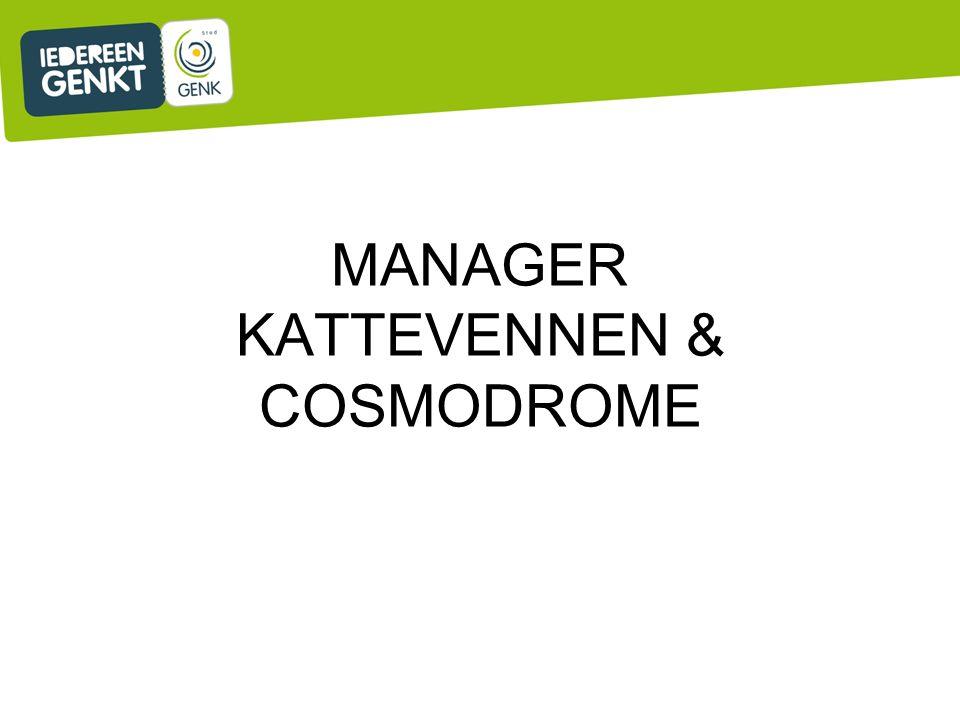 MANAGER KATTEVENNEN & COSMODROME