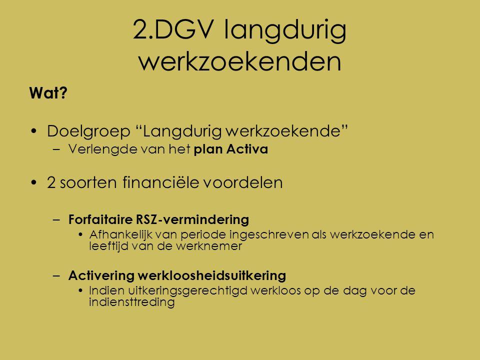 2.DGV langdurig werkzoekenden Wat.