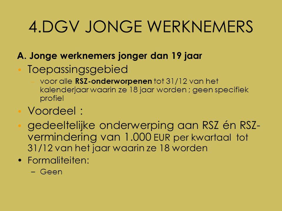 4.DGV JONGE WERKNEMERS A.