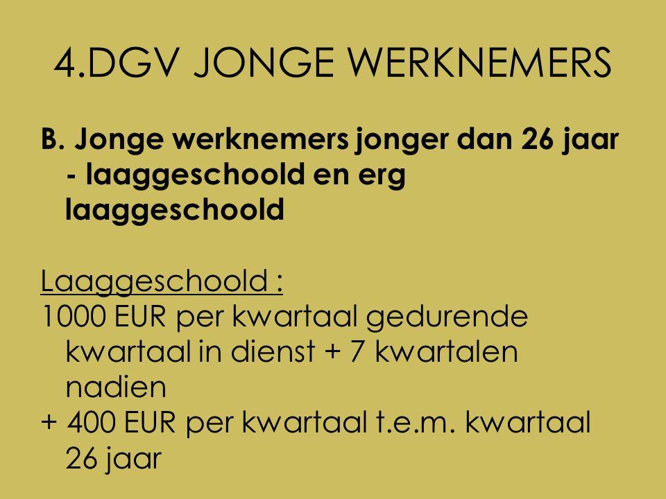 4.DGV JONGE WERKNEMERS B.