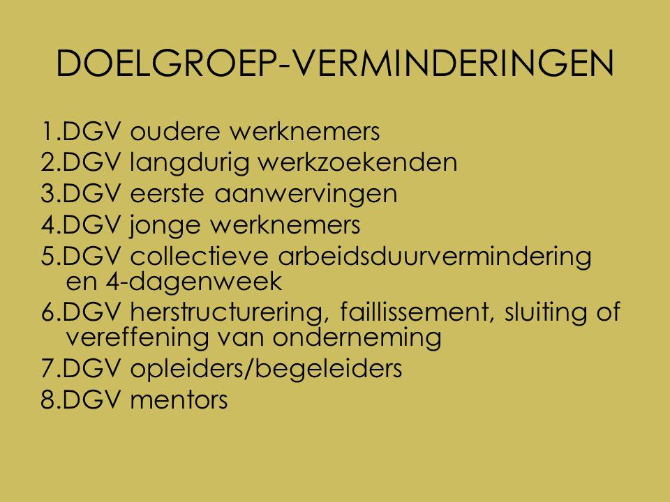 5.DGV collectieve arbeidsduur- vermindering en 4-dagenweek Welke werknemers.