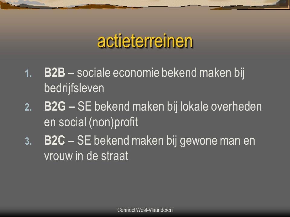 Connect West-Vlaanderen actieterreinenactieterreinen 1.