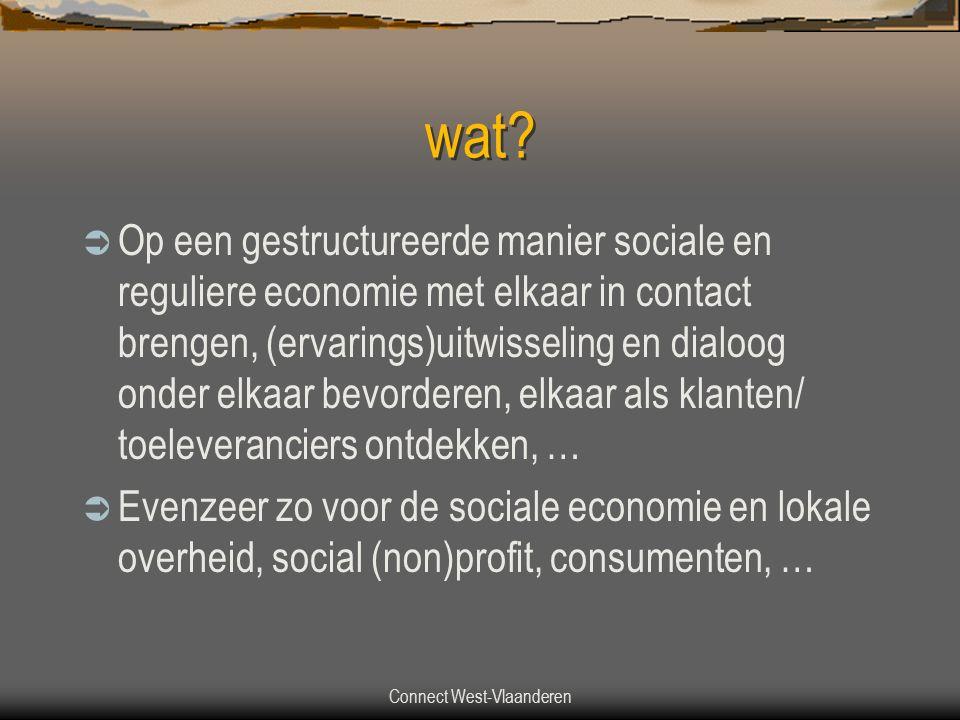 Connect West-Vlaanderen wat.