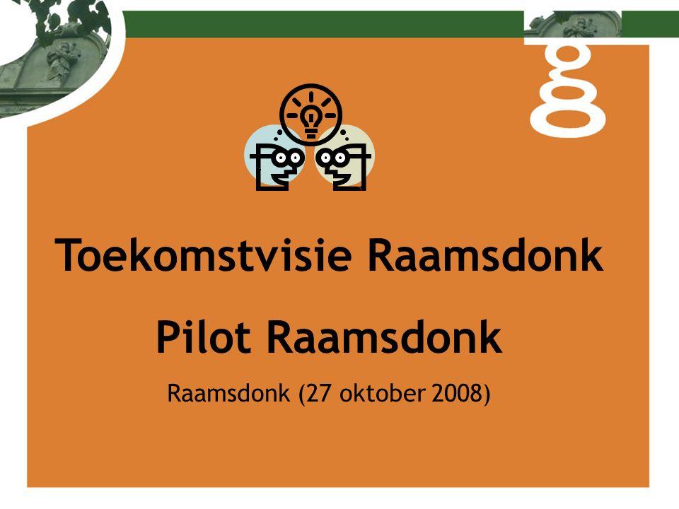 Toekomstvisie Raamsdonk Pilot Raamsdonk Raamsdonk (27 oktober 2008)