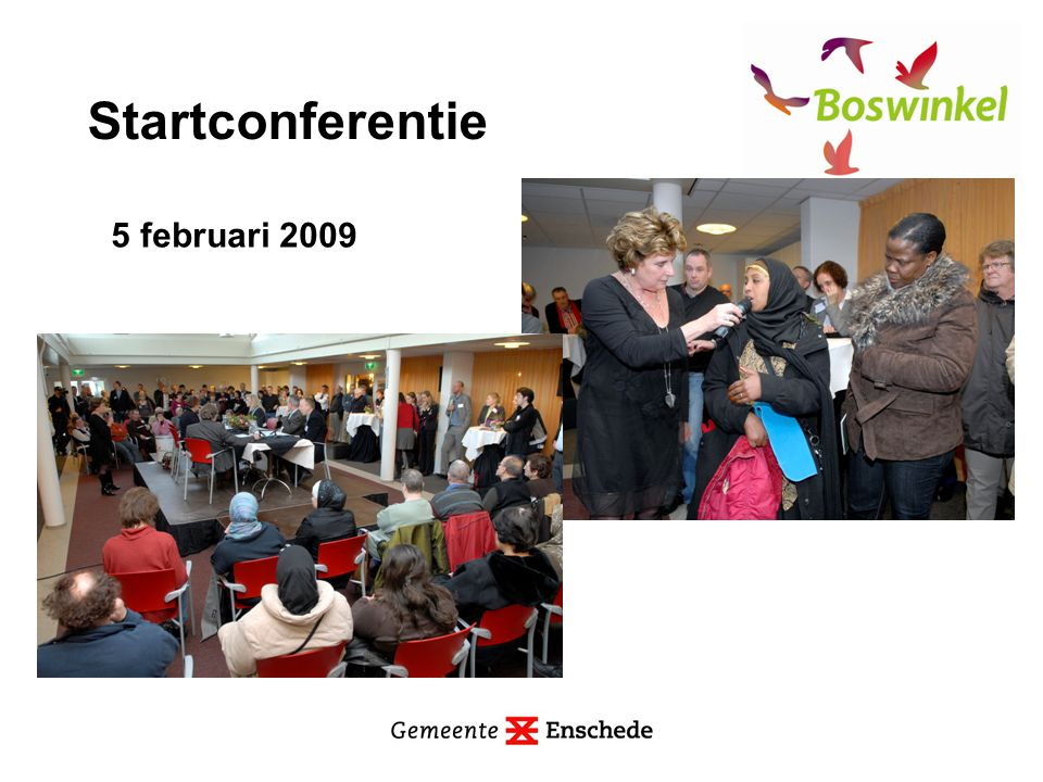 Startconferentie 5 februari 2009