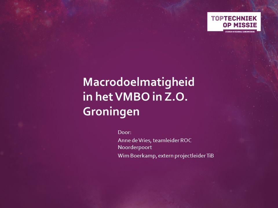 Macrodoelmatigheid in het VMBO in Z.O.