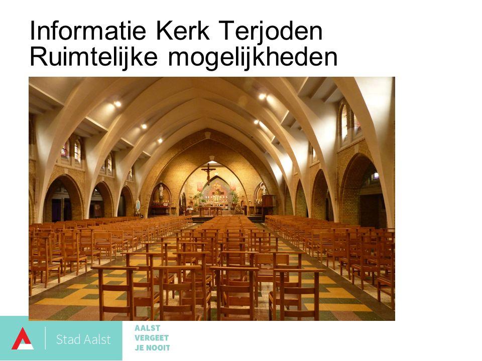Informatie Kerk Terjoden Ruimtelijke mogelijkheden