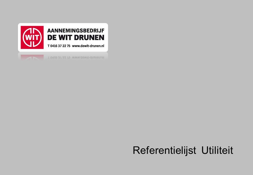 Referentielijst Utiliteit