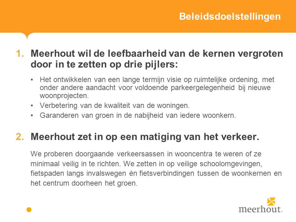 Actieplannen en acties vrije tijd – overig beleid Actieplan 7: De gemeente Meerhout werkt intergemeentelijk samen op gebied van vrije tijd (opgesplitst in 8 deelacties).