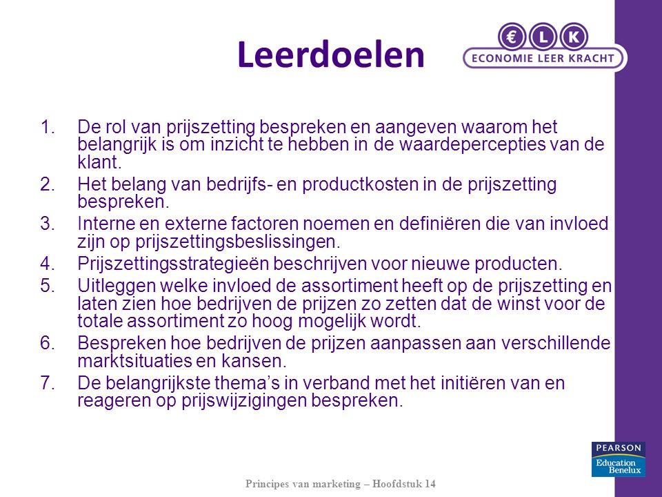 Knelpunten marketingbeleid © Economie Leer Kracht 2011