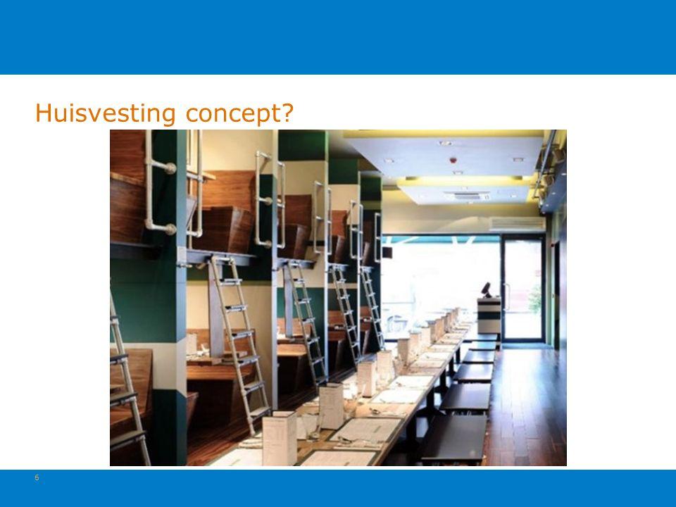 Huisvesting concept 6