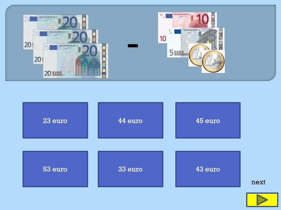 23 euro44 euro45 euro 53 euro33 euro43 euro next -