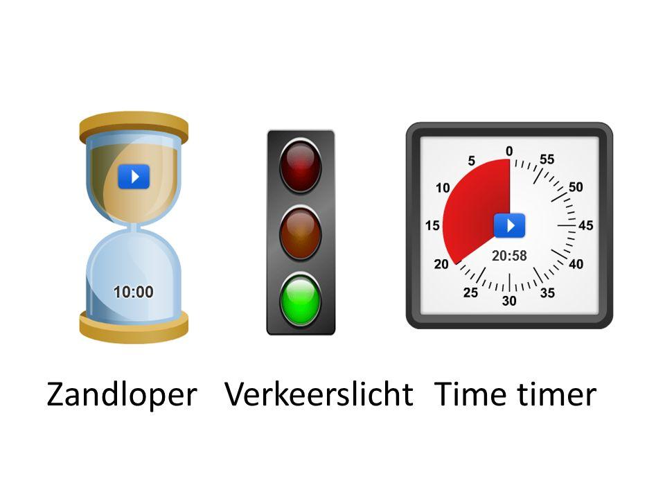 Zandloper Verkeerslicht Time timer