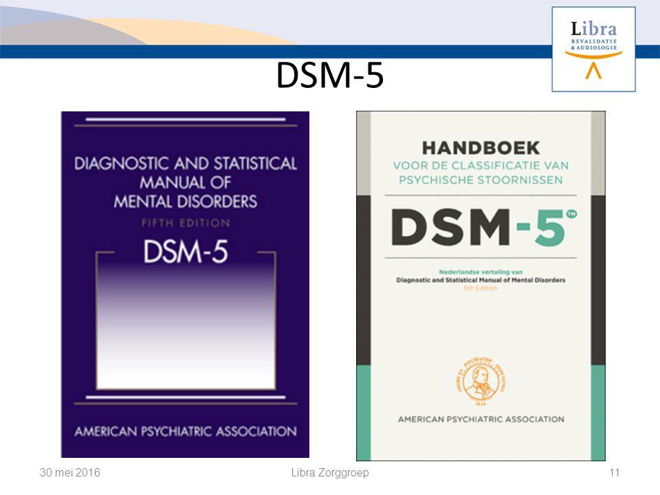 DSM-5 30 mei 2016Libra Zorggroep11