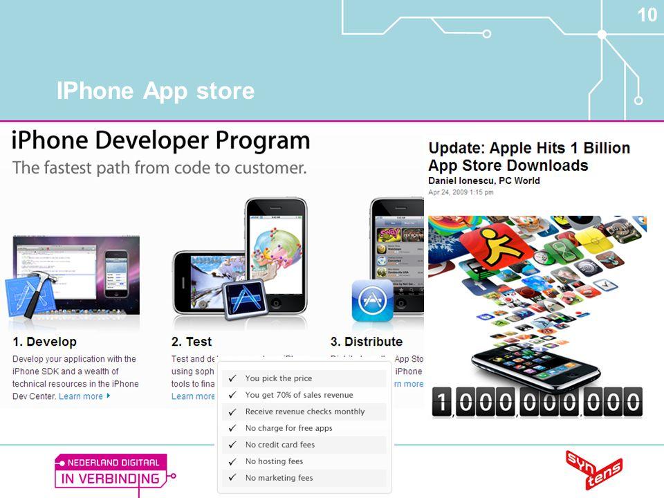 10 IPhone App store