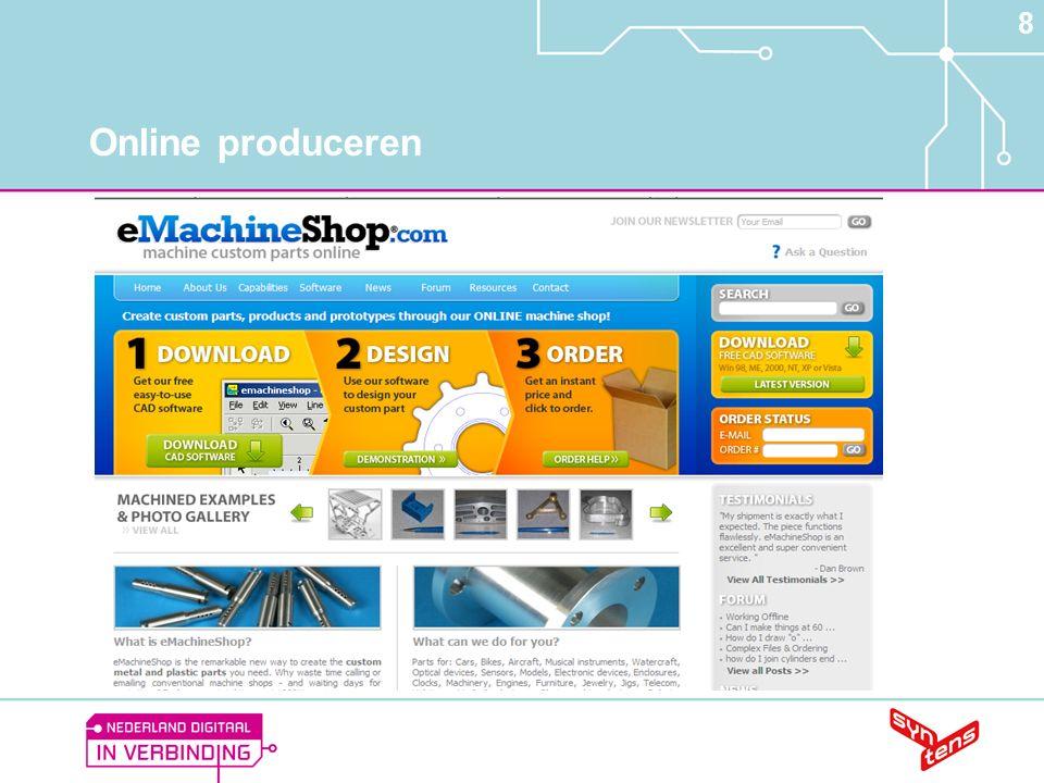 8 Online produceren