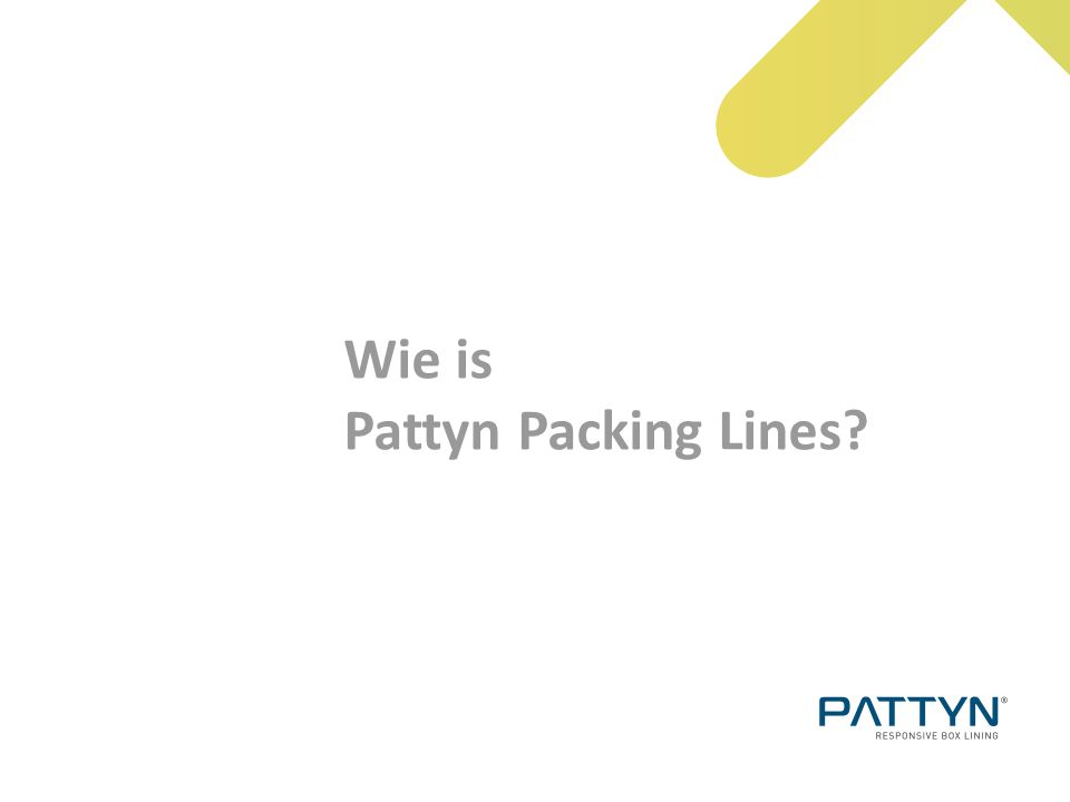Wie is Pattyn Packing Lines