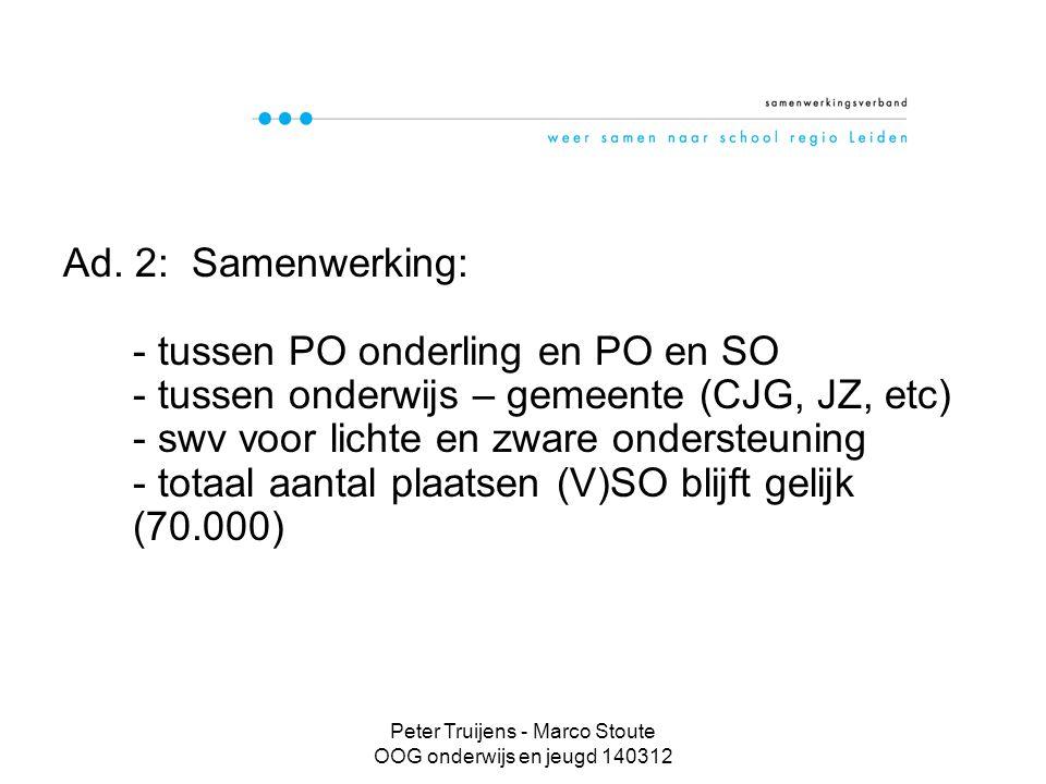 Peter Truijens - Marco Stoute OOG onderwijs en jeugd 140312 Volle Kracht Vooruit Ad.