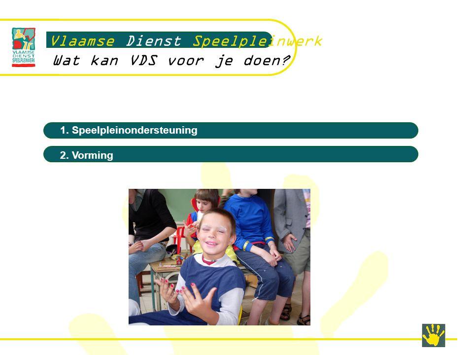 Vlaamse Dienst Speelpleinwerk Wat kan VDS voor je doen.