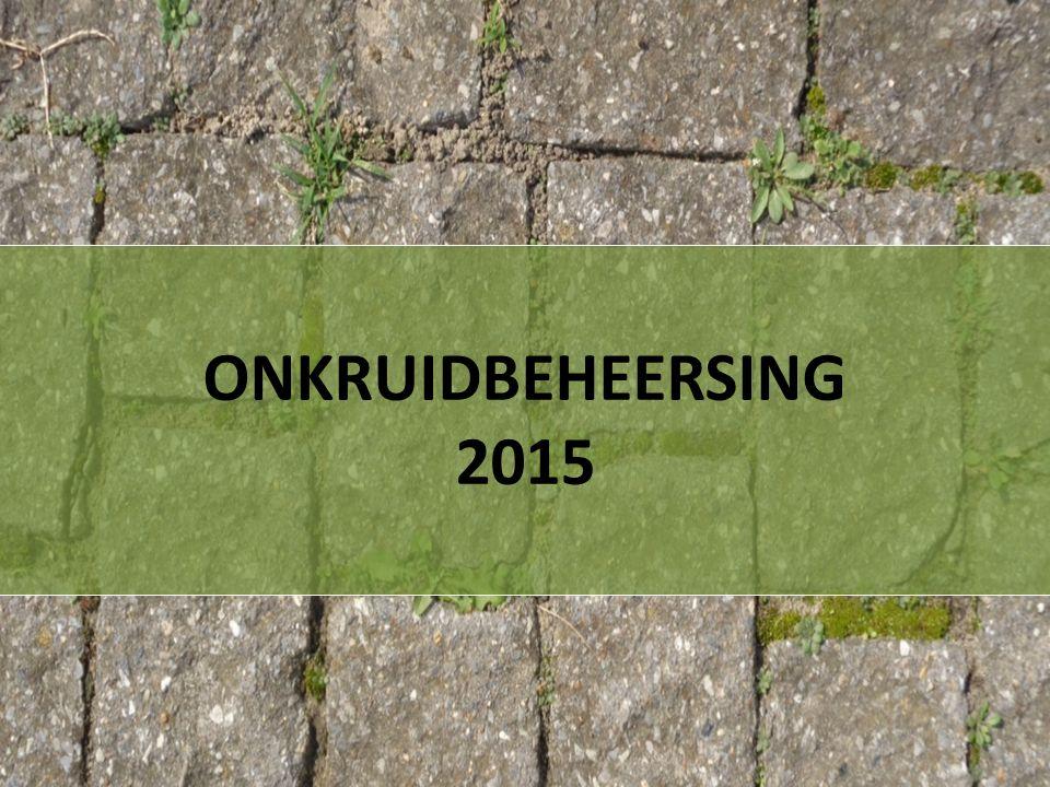 ONKRUIDBEHEERSING 2015