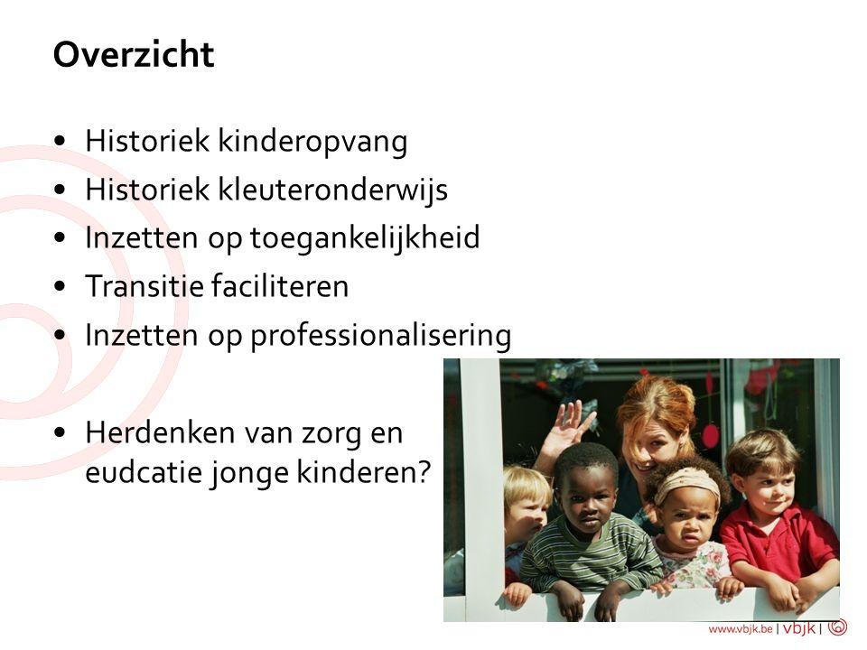Herdenken zorg & educatie van jonge kinderen.