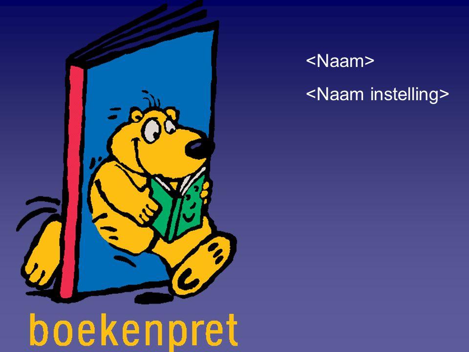 Wat is Boekenpret .Boekenpret is een leesbevorderingsprogramma voor kinderen van 0-6 jaar.