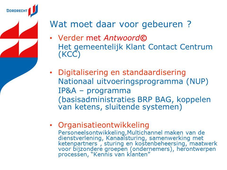 Antwoord© Antwoord© is de beweging naar een transparante overheid die de burger centraal stelt.