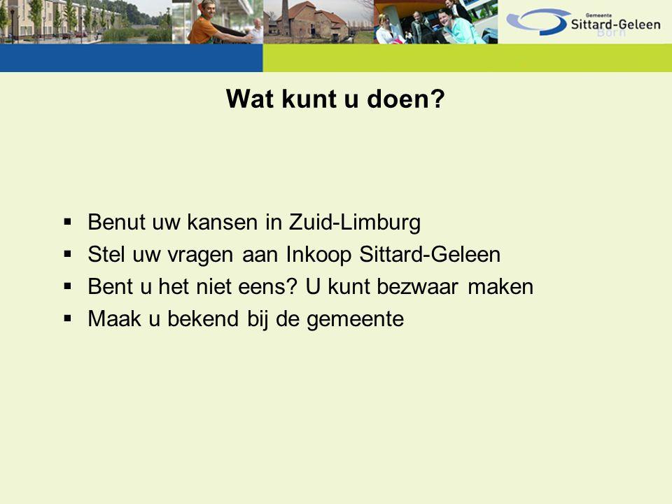 Schrijf u in…  Lijst lokale/regionale ondernemers Lijst lokale/regionale ondernemers  Meer weten: -www.sittard-geleen.nl >> ondernemen >> inkoop en aanbestedenwww.sittard-geleen.nl -www.tenderned.nl (inschrijven en zoeken)www.tenderned.nl -inkoop@sittard-geleen.nlinkoop@sittard-geleen.nl -Telefoonnummer: +14 046