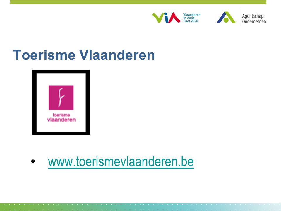 Toerisme Vlaanderen www.toerismevlaanderen.be