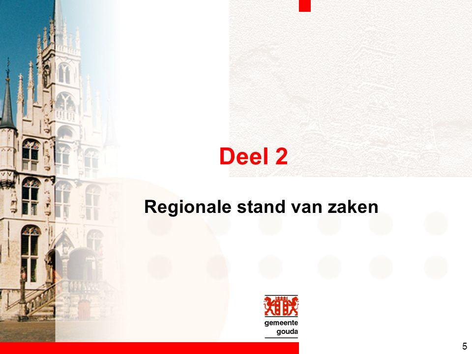 5 Deel 2 Regionale stand van zaken