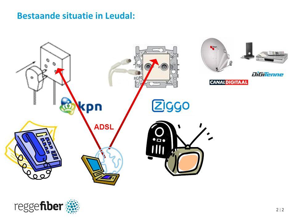 2 | 2 Bestaande situatie in Leudal: ADSL