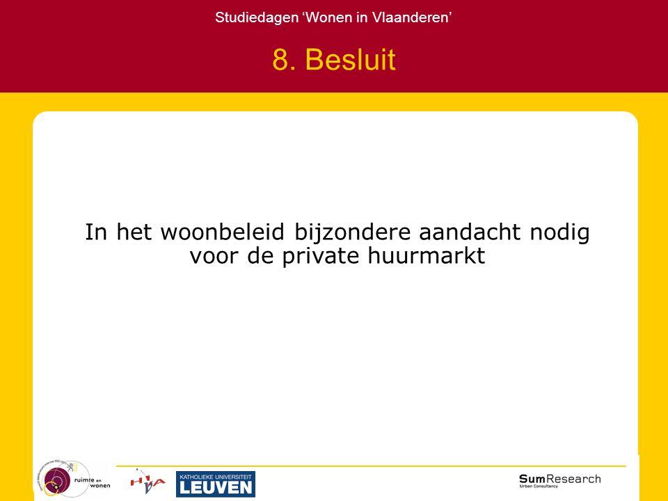 Studiedagen 'Wonen in Vlaanderen' 8.