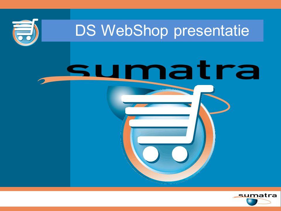 DS WebShop presentatie