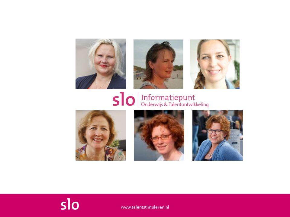 Ondersteuningscontinuüm www.talentstimuleren.nl Toenemende complexiteit van uitdagingen en belemmeringen  Toenemende intensiteit van begeleiden en mate van specialisatie voor passende ondersteuning