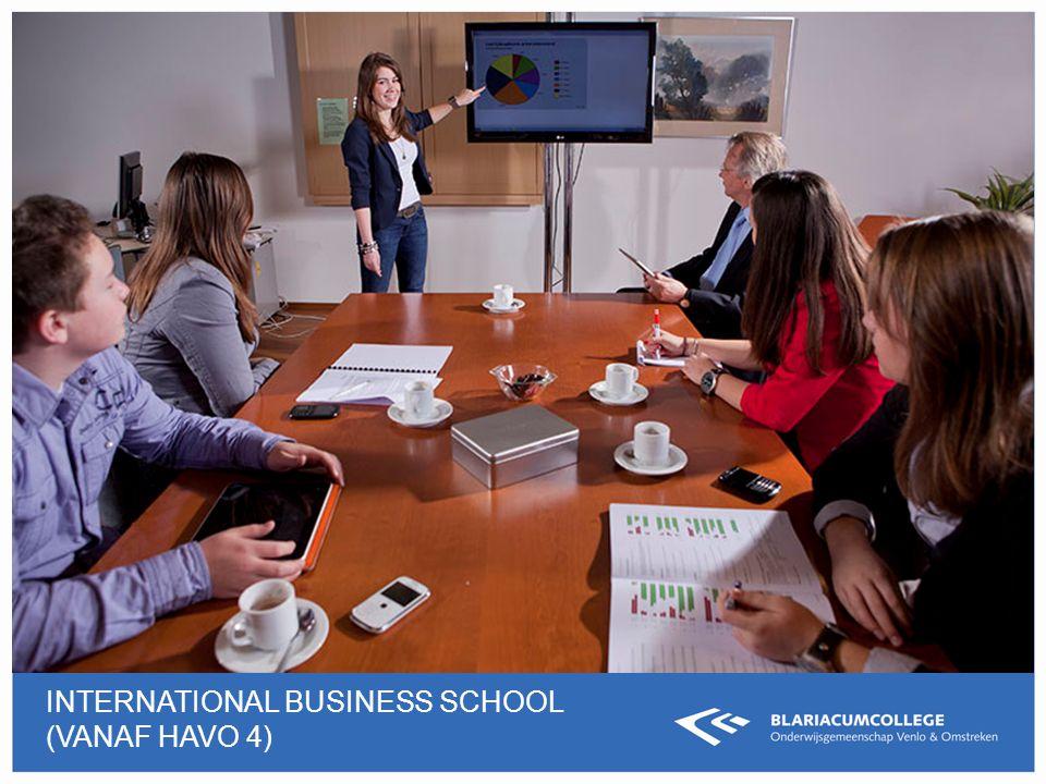INTERNATIONAL BUSINESS SCHOOL (VANAF HAVO 4)