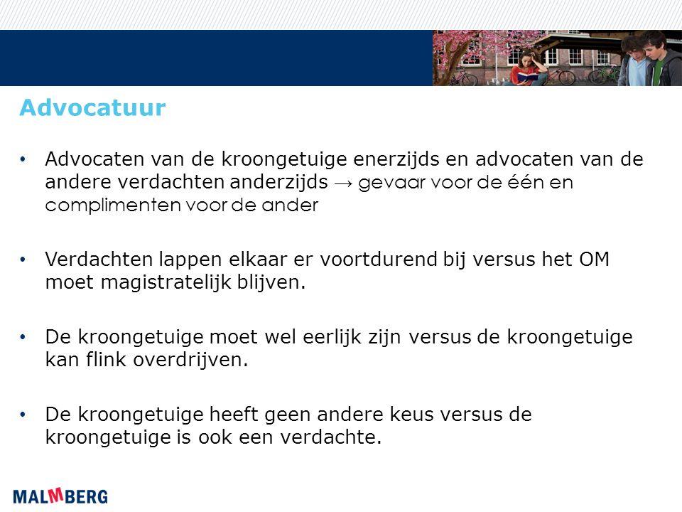 Rechter Beperkte en te algemene wetgeving → grote invloed van de rechtspraak in de geschiedenis van Nederlandse kroongetuigen Een pratende kroongetuige, zwijgende verdachten en minimale bewijslast → welke keuze maakt de rechter.