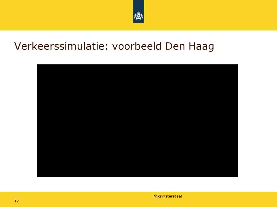 Rijkswaterstaat Verkeerssimulatie: voorbeeld Den Haag 12